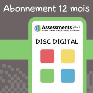 Abonnement Jeux DISC digital 12 Mois
