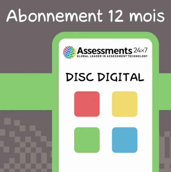 jeu DISC digital