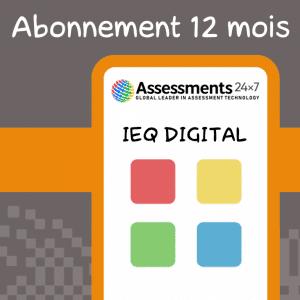 Abonnement jeux EIQ digital 12 mois